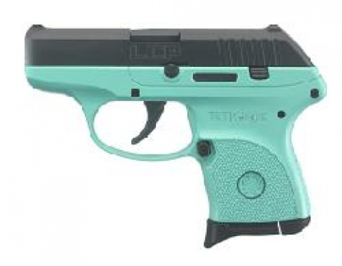 Ruger Lcp Pistol 380 Acp Raspberry Frame 275 Blued Slide 61