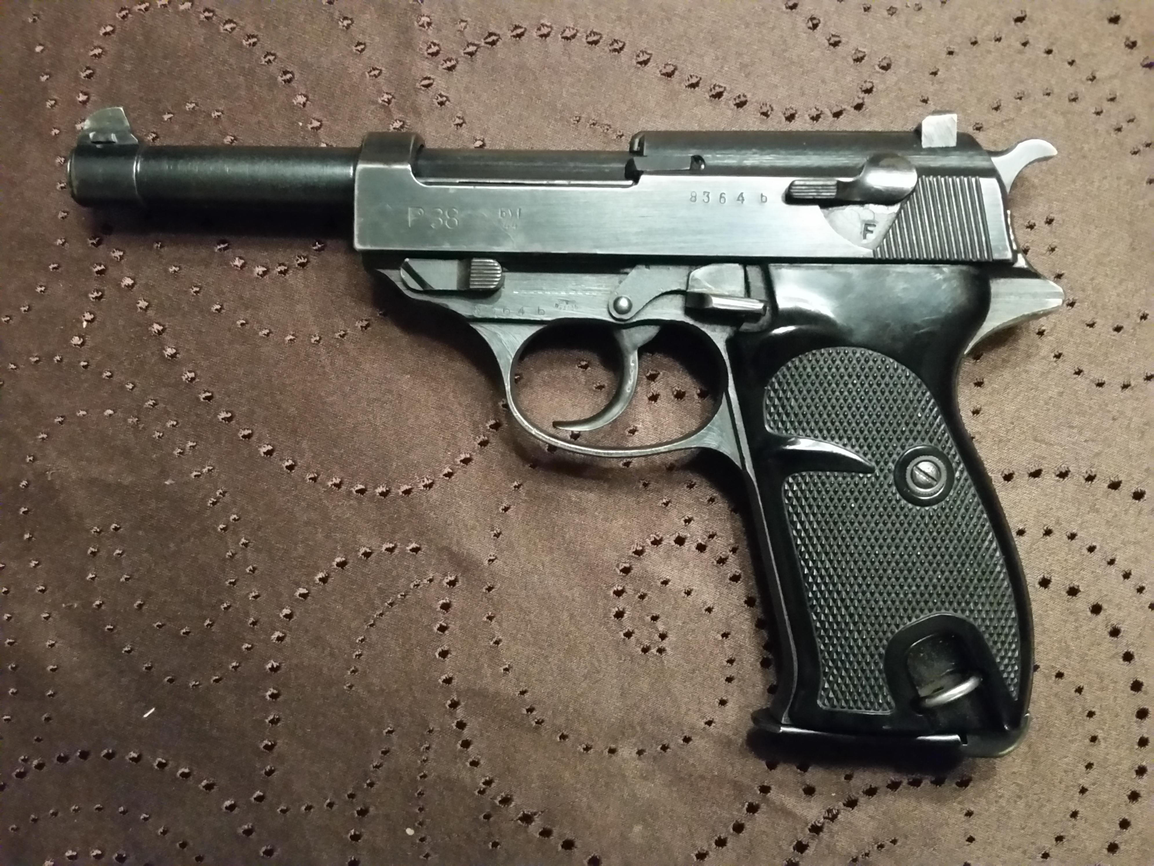 ARMSLIST - For Sale: 1944 BYF Mauser German P38 Bring back pistol 9mm